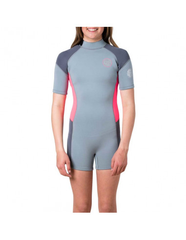 JNR GIRL D/PATROL S/SL SP  HOT PINK  14