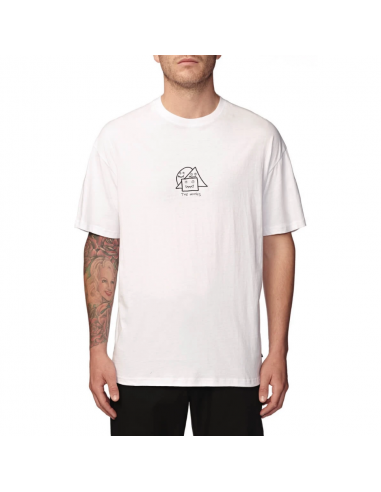 Тениска Globe APPLEYARD RAMP TEE WHITE