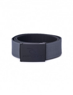 CORPO WEBBING BELT-BLACK/GREY-TU-105527