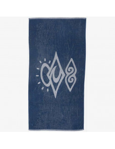 SEARCHERS TOWEL -INDIGO -TU-105691