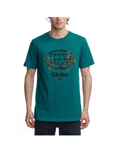 Тениска Globe GREENHOUSE TEE SEA SPRAY