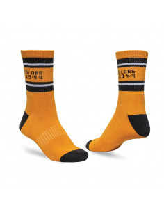 Мъжки чорапи Globe BENGAL CREW SOCK 5 PACK GOLD