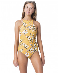 GIRL ISLAND TIME ONEPIECE-MUSTARD-8