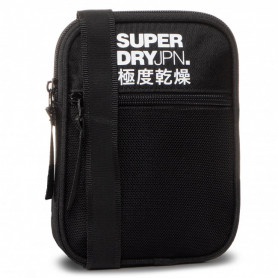 Мъжка чанта Superdry DRAWSTRING BAG-BLACK-0