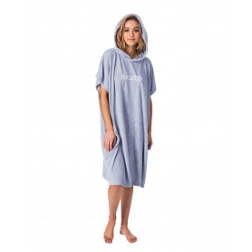 SURF ESS HOODED TOWEL-LIGHT BLUE-TU