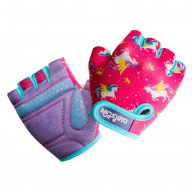 Ръкавици за колело COOLSLIDE  UNICORN GLOVES-UNICORN PRINT/DAHLIA PURPLE-XS