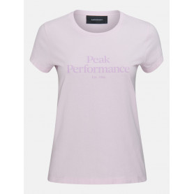 Тениска PEAK PERFORMANCE W ORIGINAL TEE COLD BLUSH