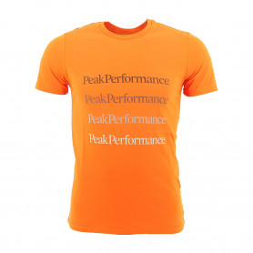 Тениска PEAK PERFORMANCE M GROUND TEE 2 ORANGE ALTITUDE
