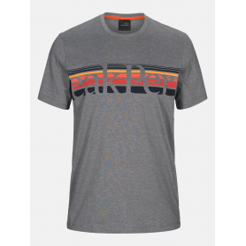 Тениска PEAK PERFORMANCE M EXPLORE TEE STRIPE P GREY MELANGE