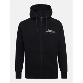 Горнище PEAK PERFORMANCE M ORIGINAL ZIP HOOD BLACK