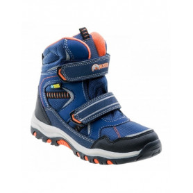 Туристически обувки Elbrus TAMIKO MID WP JR DARK NAVY/NAVY/ORANGE