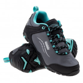Туристически обувки ELBRUS SABBY WP WOS DARK GREY/BLACK/TURQUOISE