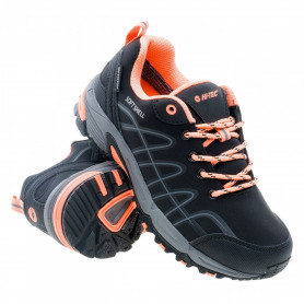 ТУРИСТИЧЕСКИ ОБУВКИ HITEC OUTDOOR SHOES PAMIO LOW WP WOS BLACK/CORAL