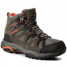 Туристически обувки HITEC RAPOSO MID WP DARK GREY/ORANGE/LIGHT GREY