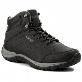 Туристически обувки HITEC OUTDOOR SHOES CARONI MID BLACK/DARK GREY