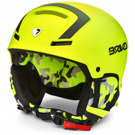 КАСКА ЗА СКИ BRIKO FAITO HELMET MATT BLACK YELLOW FL XL