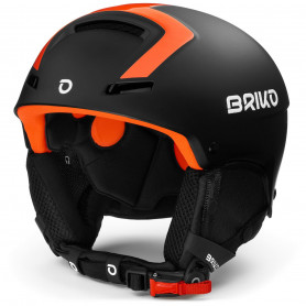 КАСКА ЗА СКИ BRIKO FAITO FLUID INSIDE  HELMET MATT BLACK ORANGE F  M2