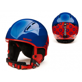КАСКА ЗА СКИ BRIKO KODIAKINO HELMET SHINY BLUE RED XS