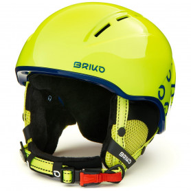 КАСКА ЗА СКИ BRIKO KODIAKINO HELMET SHINY YELLOW BLUE SM