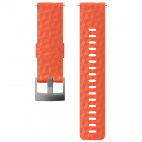 Каишка за часовник SUNNTO 24 ATH1 SILICONE STRAP RED/GREY S+M