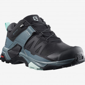ОБУВКИ SALOMON X ULTRA 4 GTX W BLACK/STOWEA/OPAL