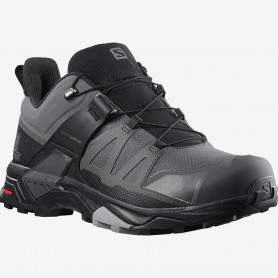 ОБУВКИ SALOMON X ULTRA 4 GTX MGNT/BLACK/MONUMENT