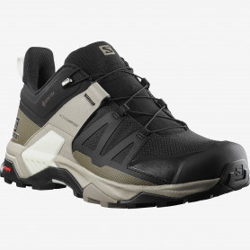 ОБУВКИ SALOMON X ULTRA 4 GTX BLACK/VINKAK/VANILA