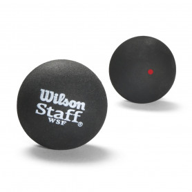 Тенис топки Wilson STAFF SQUASH 2 BALL RED