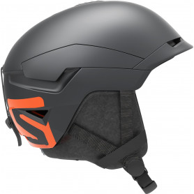 Каска за ски Salomon HELMET QUEST ACCESS BELUGA/NEON RED