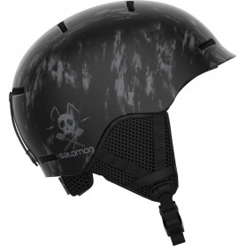 Каска за ски Salomon HELMET GROM BLACK TIE-DYE KS