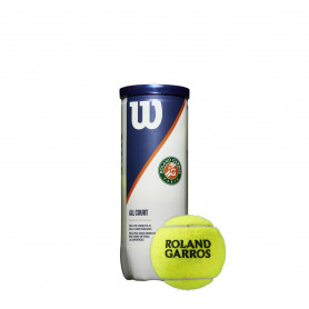 Топки за тенис Wilson ROLAND GARROS ALL CT 3 B
