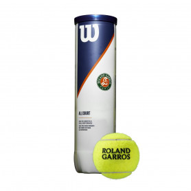 Топки за тенис Wilson ROLAND GARROS ALL CT 4 B