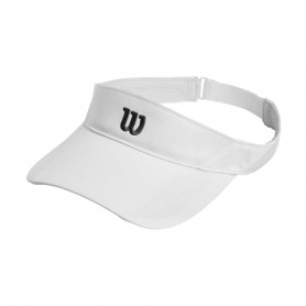 Шапка за тенис Wilson RUSH KNIT VISOR ULTRALIGHT WH