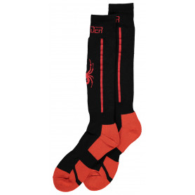 Чорапи за ски Spyder M SWEEP SOCKS BLACK