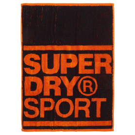SUPERDRY SPORTS HAND TOWEL-BLACK-OS