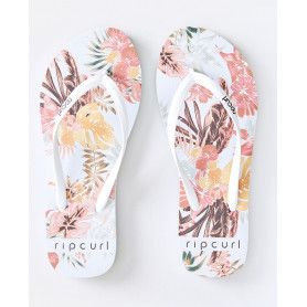 Джапанки Rip Curl TALLOWS FLORAL-WHITE