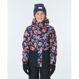 Ски яке Rip Curl OLLY JACKET-FLORAL PINK