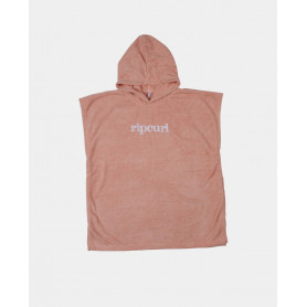 Тениска Rip Curl HOODED TOWEL - MINI-PEACH-TU