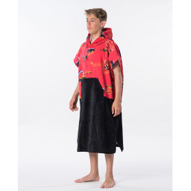 Пончо RIP CURL HOPPER BOY-BRIGHT RED-TU