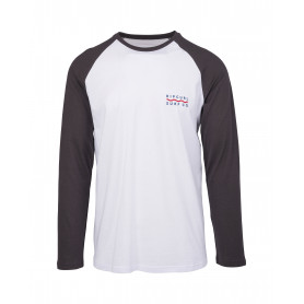 Блуза RIP CURL SHORE LINES LS TEE -OPTICAL WHITE