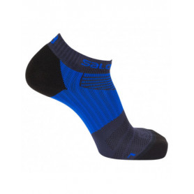 Чорапи за бягане Salomon SENSE PRO DX+SX  DRESS BLUE/SURF THE WEB