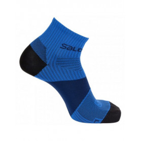 Чорапи за бягане Salomon SONIC VIBRATION DX+SX  DRESS BLUE/BLACK