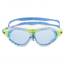 Очила за плуване AQUAWAVE FLEXA JR-BLUE/LIME/BLUE TRANSPARENT-ONE SIZE