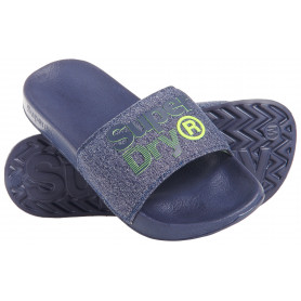 Джапанки Superdry SUPERDRY LINEMAN POOL SLIDE-W2K