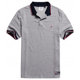Тениска Superdry SPORTSTYLE TWIN TIPPED POLO-07Q-2