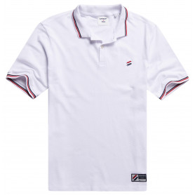 Тениска Superdry SPORTSTYLE TWIN TIPPED POLO-01C-2