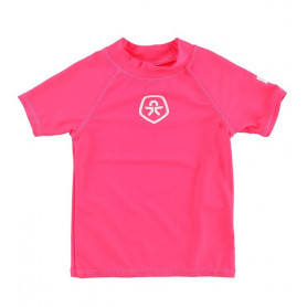 Тениска Color Kids T-SHIRT L/S UPF 50+ -PIN