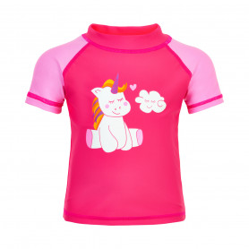 Тениска Color Kids T-SHIRT S/S UPF 50+-PIN