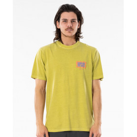 Тениска Rip Curl MIND WAVE LOGO TEE-WASHED LIME
