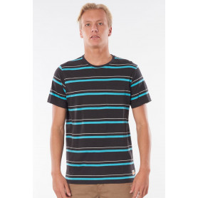Тениска Rip Curl SWC AURORA STRIPE TEE-WASHED BLACK